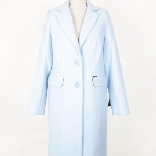 Płaszcz wiosenny dyplomatka damska Dorota błękit 1