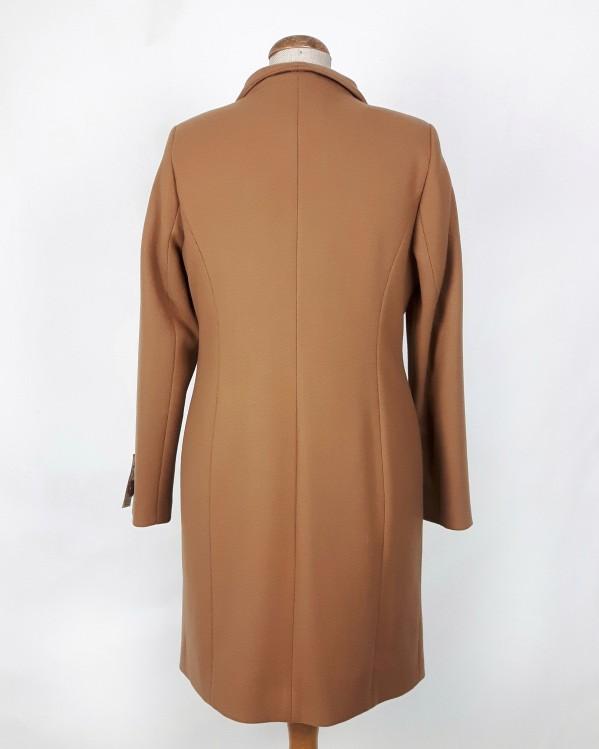Zimowy płaszcz damski Eliza camel (beżowy) 2
