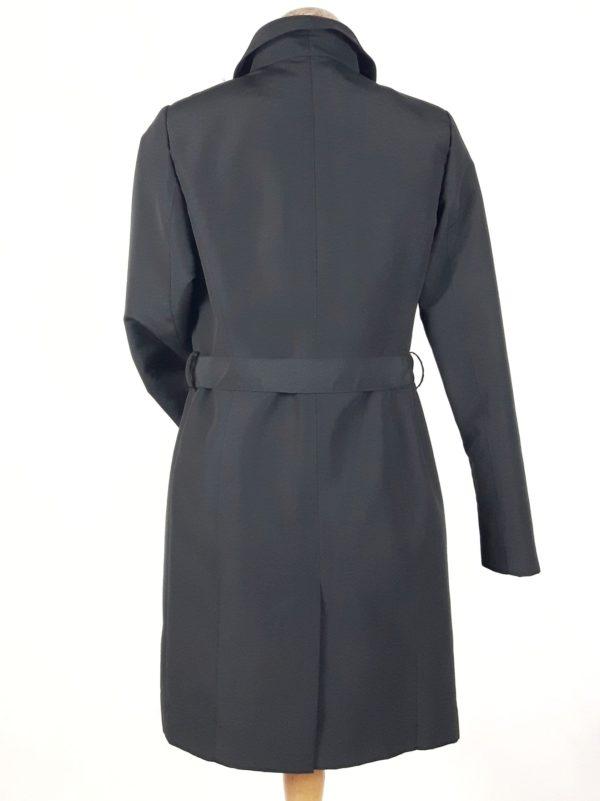 Płaszcz trencz wiosenny Julia czarny 2