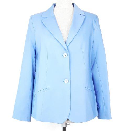 Elegancki żakiet marynarka damska Nadia niebieski 1
